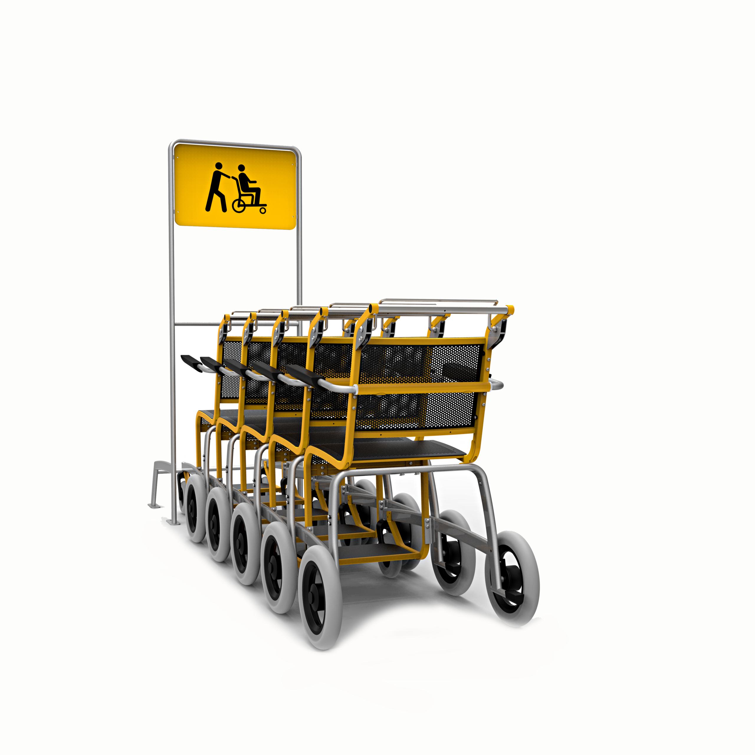 Transportrolstoel Caddy