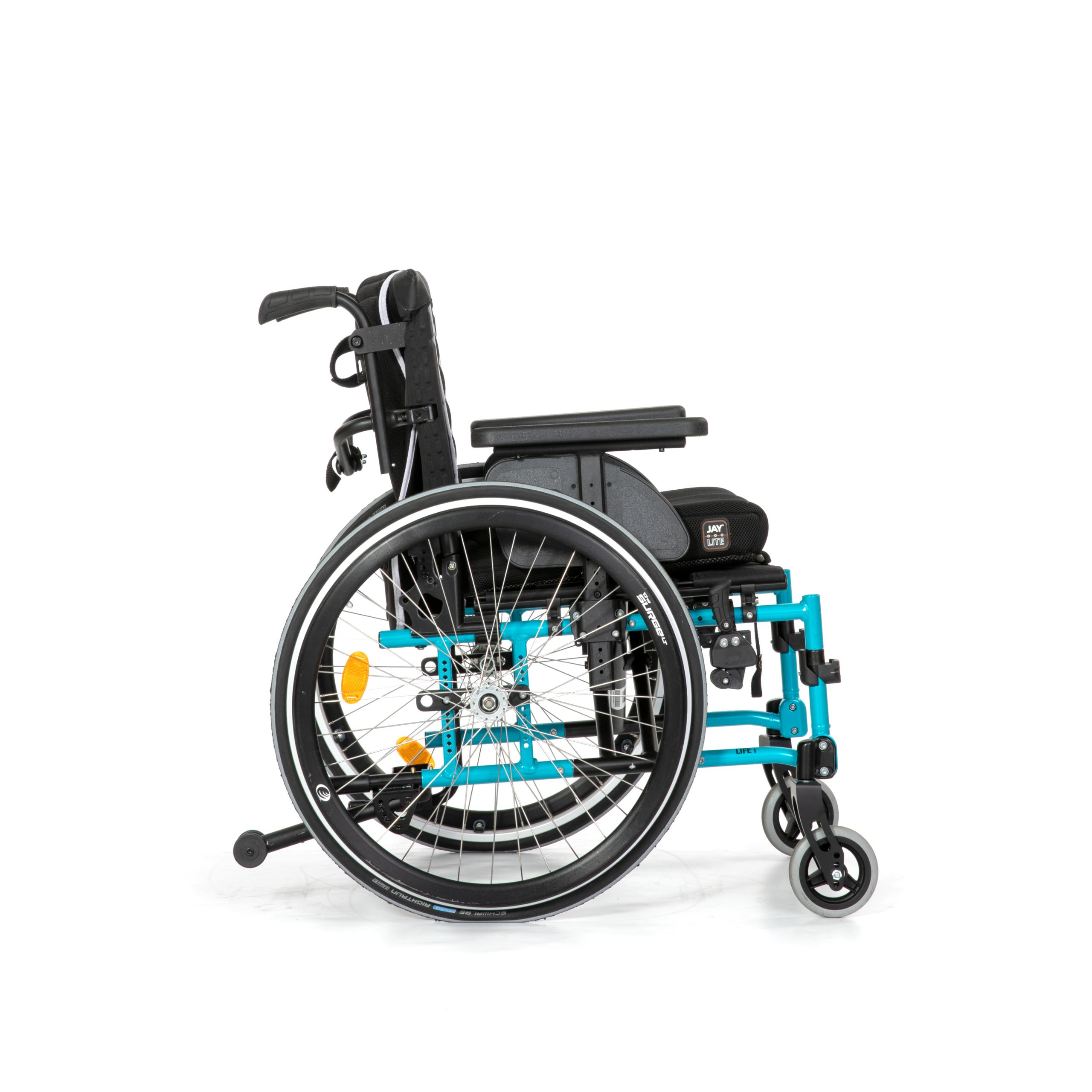 Actief vouwframe rolstoel