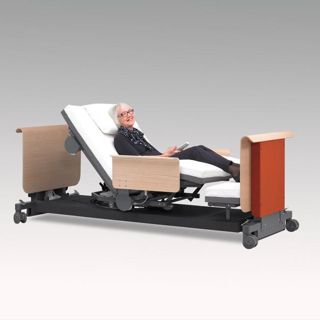 Rotobed_2 hoog/laag bed met volledig automatische rotatie