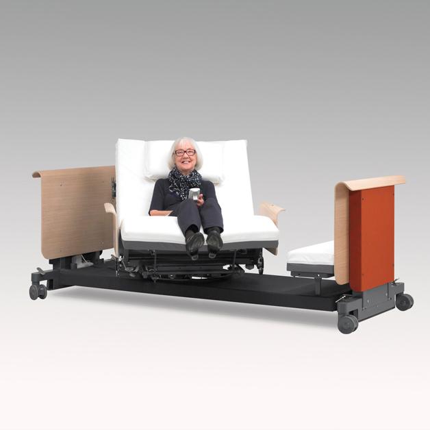 Roto bed met volledig automatische rotatie